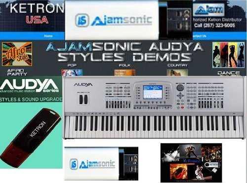 Ketron  Nowe Audya, SD9, SD7, SD90, SD60, SD40, Ajamsonic Ketron uk