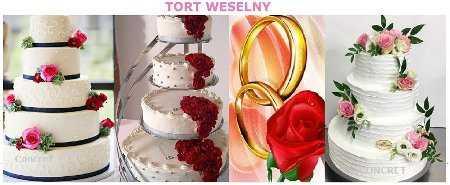 Tort weselny na wesele 511500868