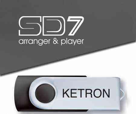 Pendrive Upgrade 2016 Ketron Sd7 SD9 SD60 SD90 SD40